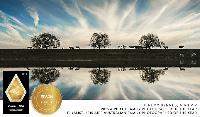 Jeremy Byrnes, 2015 AIPP ACT Family Photographer of the Year