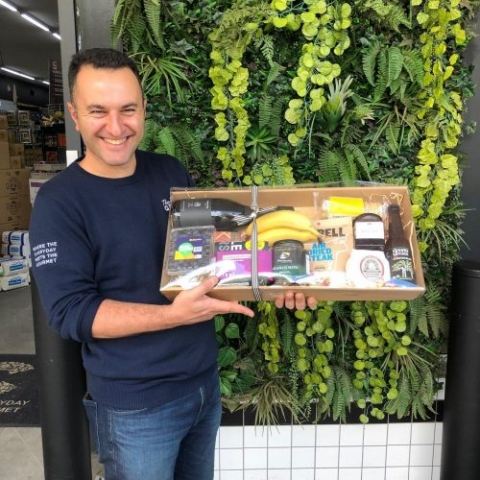The Cook Grocer food hamper (included in prize)